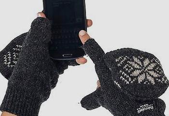 Alkii Thermal Insulation Fingerless Gloves