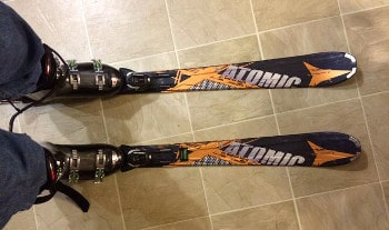 Atomic Nomad Smoke Ti Skis