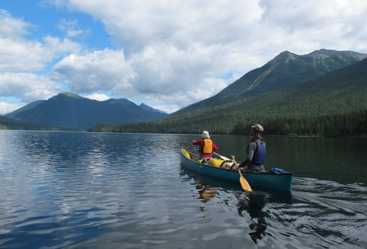 Basic paddling strokes