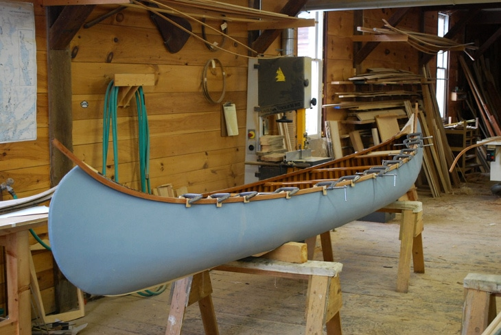 Canoe making workshop