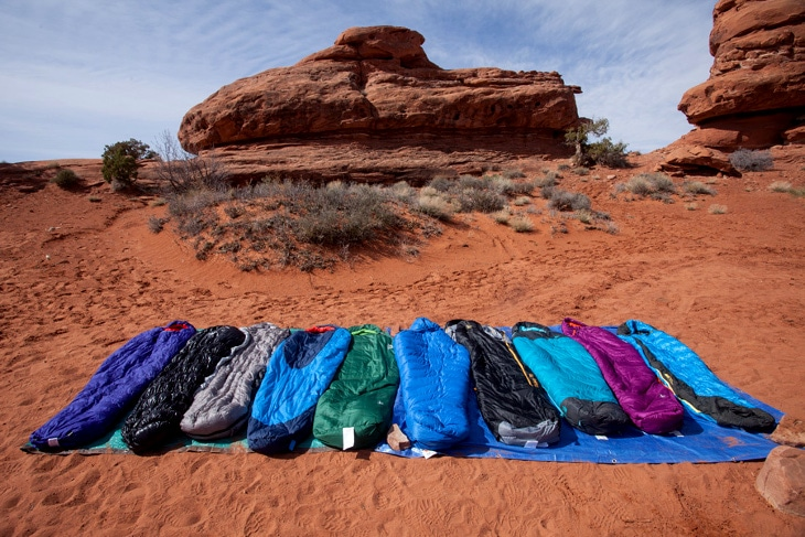 Choose your sleeping bag