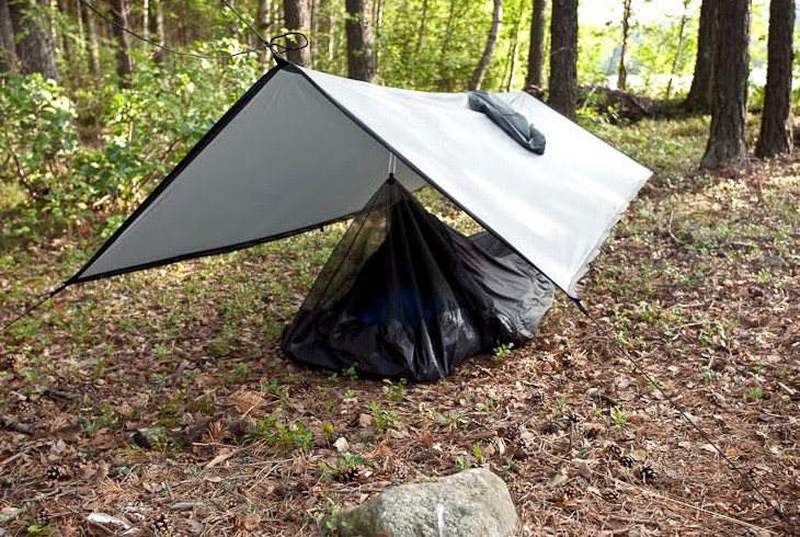 Claustrophobia friendly tent
