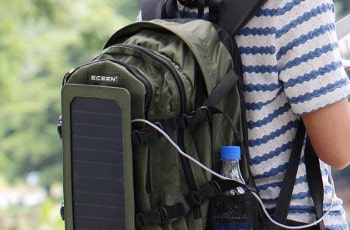 ECEEN Hiking Daypack Solar Charger