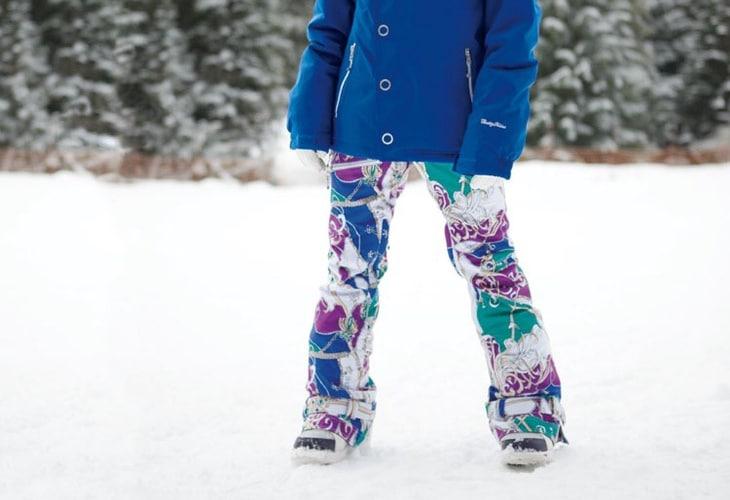 Fashion snowboard pants