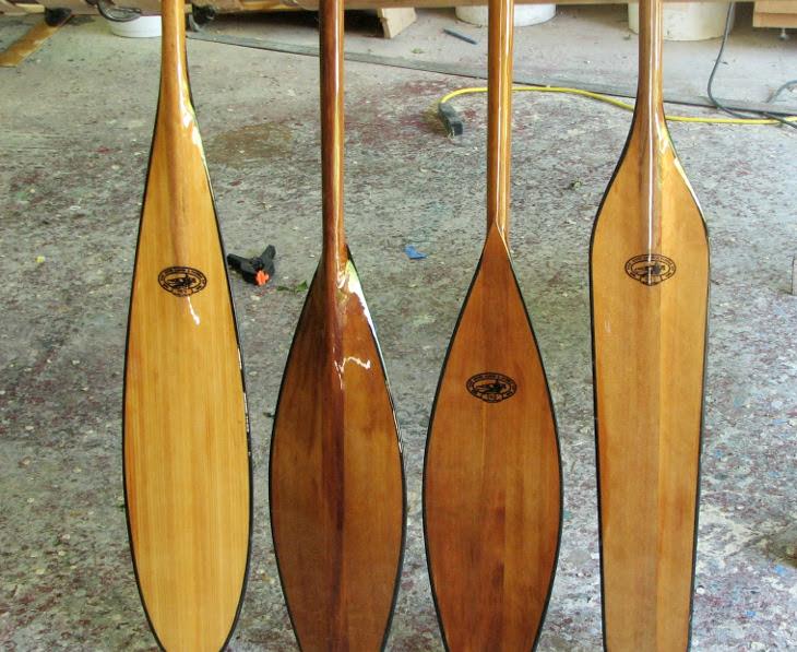 Fiber glass paddles