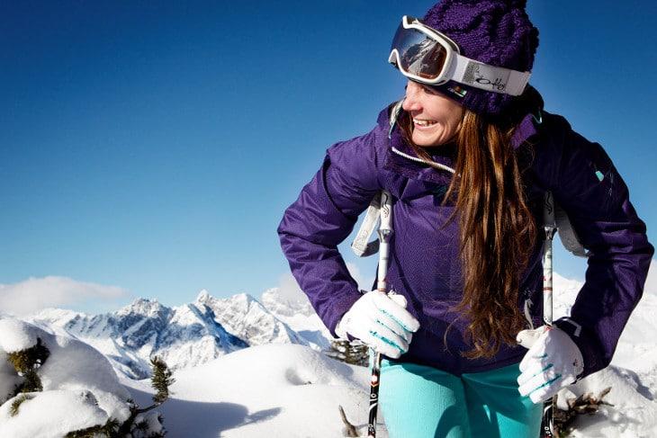 Girls ski day
