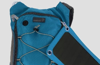 Ivation 7W Solar Backpack