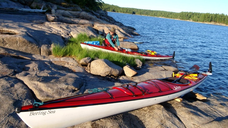 Kayaks for wilderness tripping