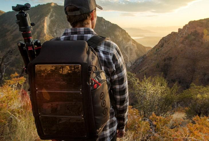 New solar backpack