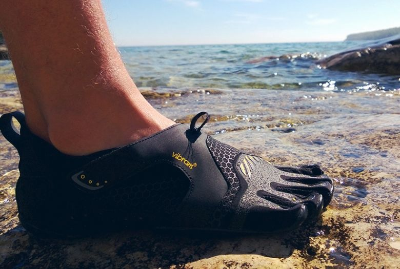 No slip with water shoes