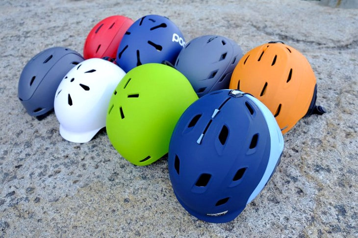 Ski helmet styles