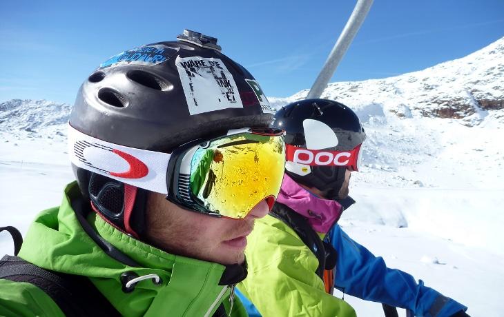 Ski helmets fit