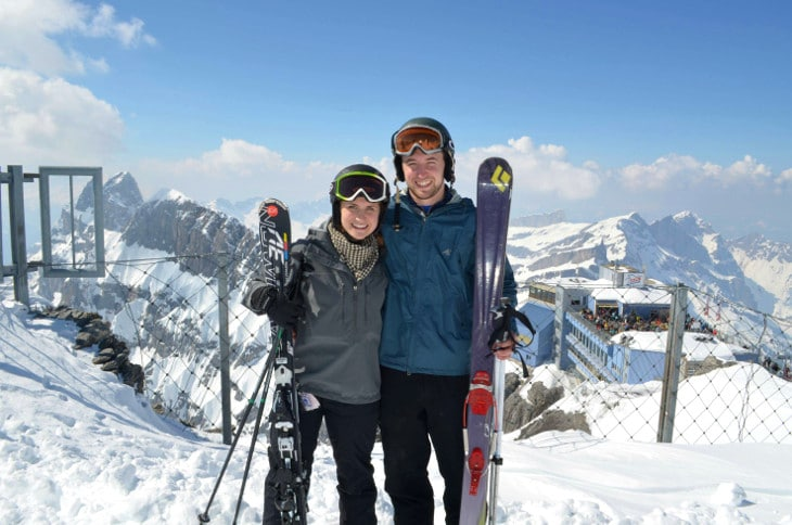 Skis for him and her
