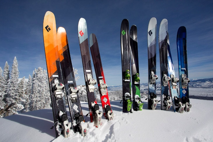 Skis for not so beginners