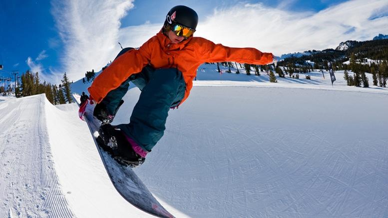 Snowboard white madness