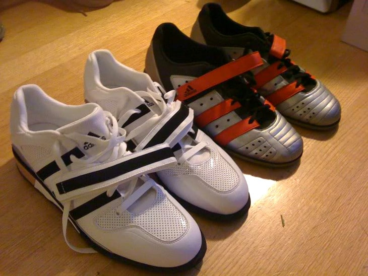 2 Pairs of lifting shoes