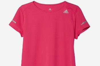 Adidas Womens Run Short Sleeve Tee