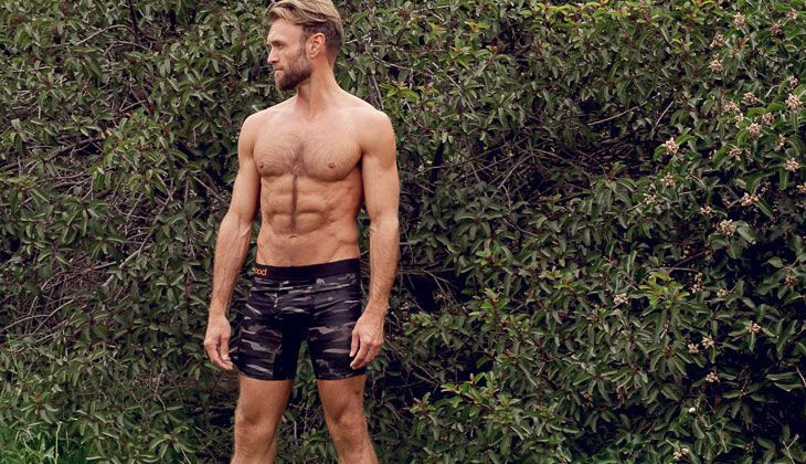 Camouflage hiking underwear