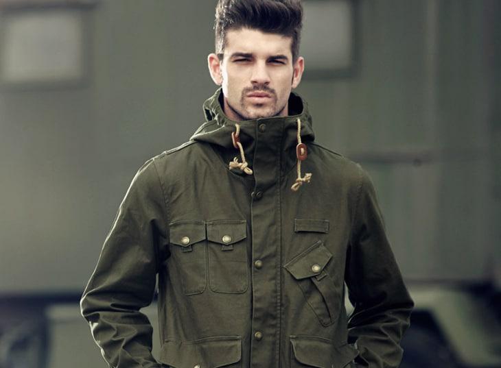 Canvas type jacket