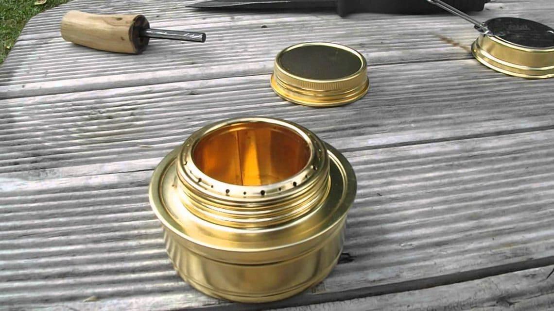 Esbit alcohol stove inspection
