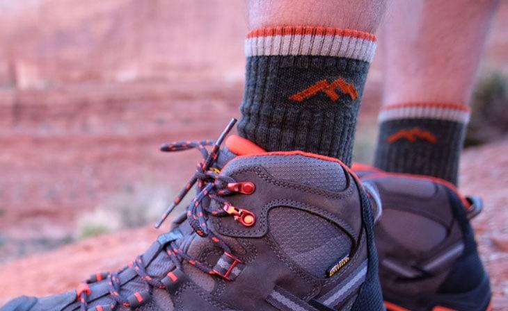 Hiking socks materials
