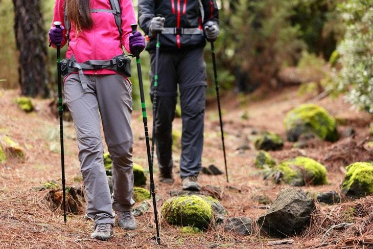 Hiking trail fun