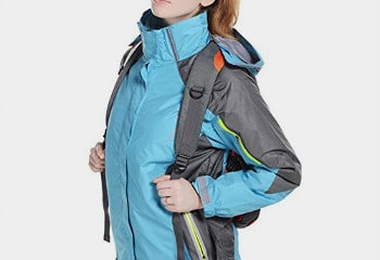 J&D Life Womens Snowboarding Jacket