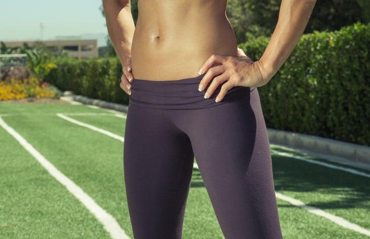 Materials of yoga pants