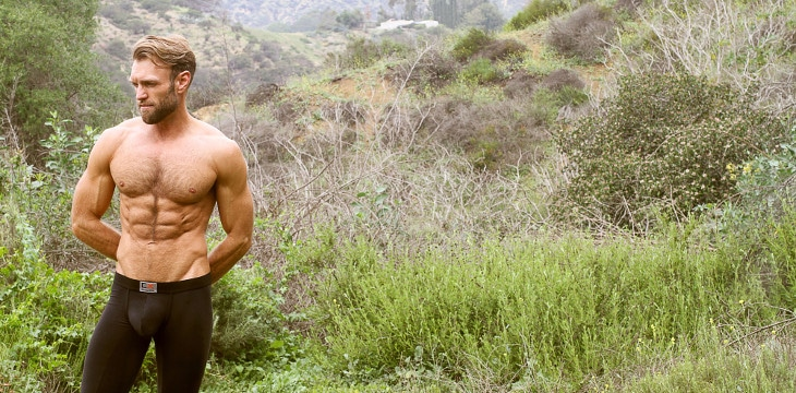 Men hiking underwear