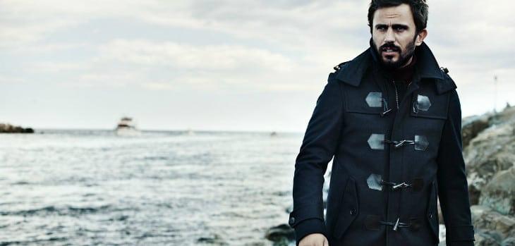 Mens black winter jacket