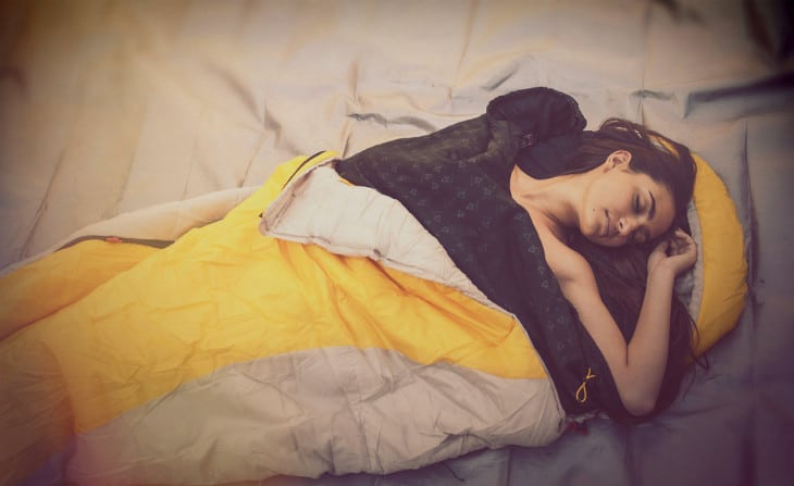 New sleeping bag liner