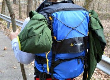 Outdoor Products Dragonfly ExternalFrame Backpack