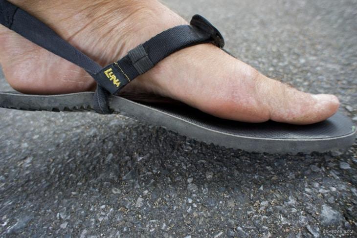 Sandal for athletes