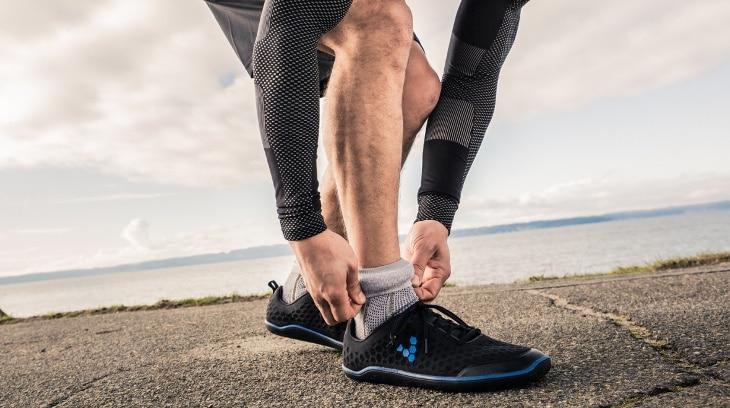 Sensored running socks