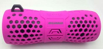 Sylvania PINK Water Resistant BluetoothSpeaker