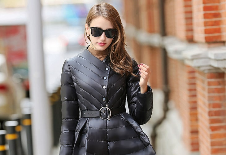Winter skirt jacket