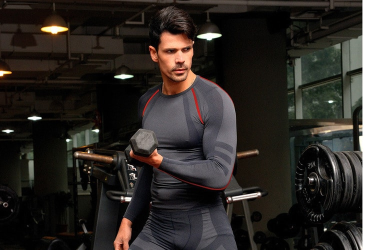 Working out in base layer