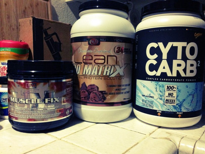 Carbohydrates supplements