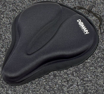 Large Bicycle Gel Seat Cover (Domain Cycling)
