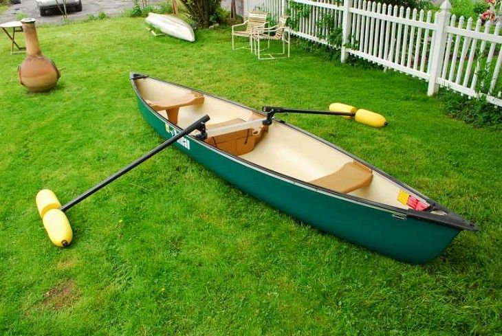 Making a diy canoe stabilizer