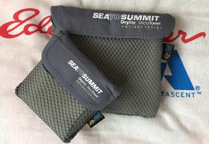 Travel antibacterial towels