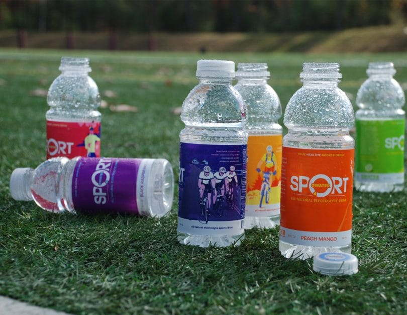 all-natural electrolyte sports drink with real fruit flavor