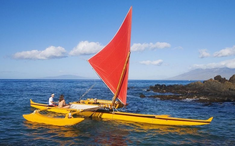 diy canoe stabilizers on the water