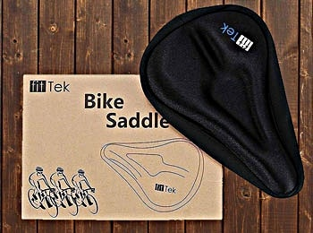 fitTek Gel Bike Seat Cushion