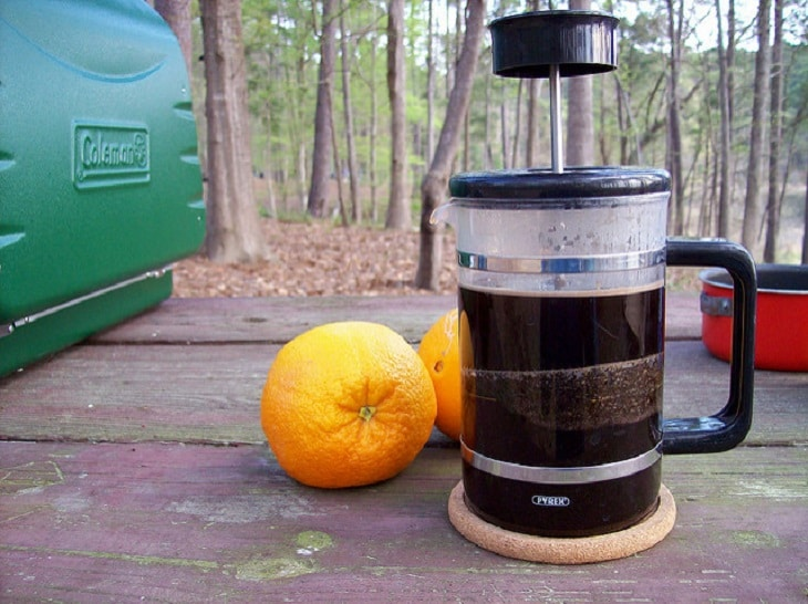French press caffee