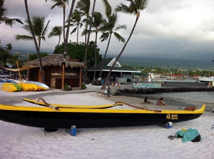 kona outrigger canoe