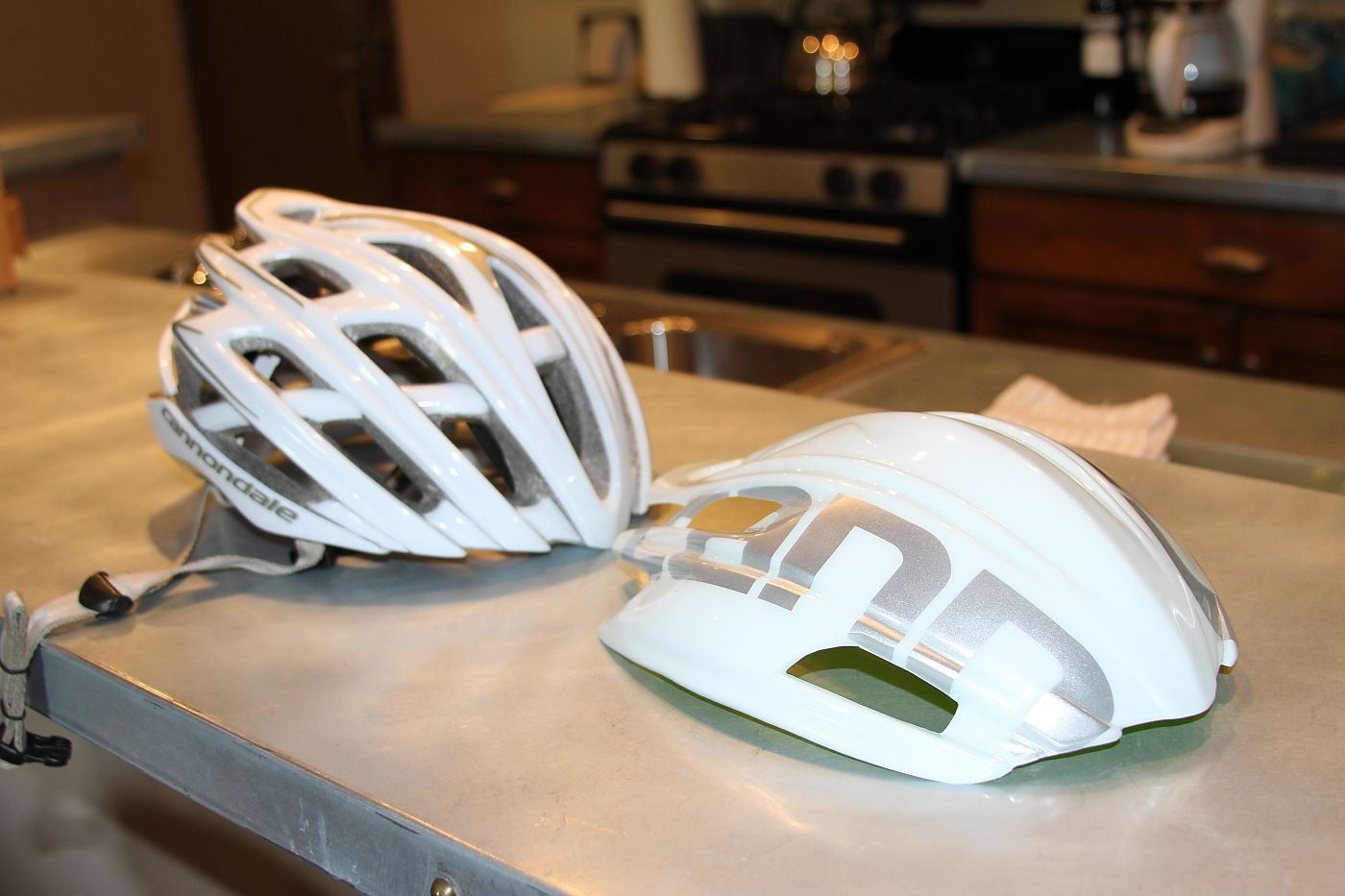 Biking helmet shell