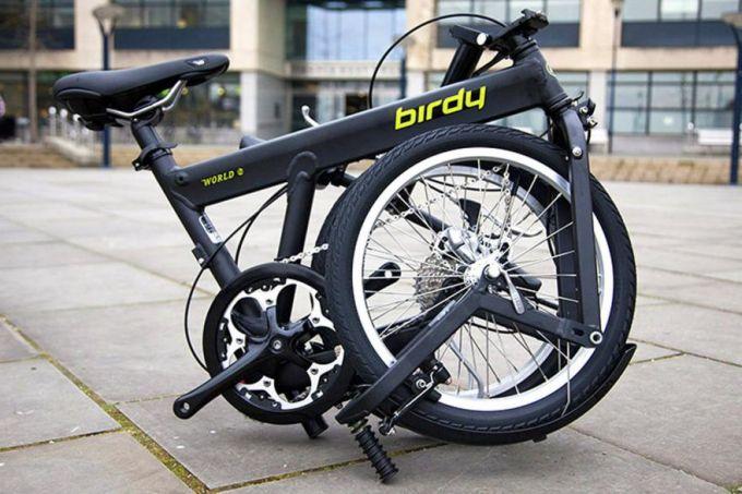 folded bike