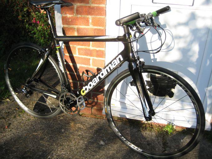 Boardman Team Carbon Flat Bar Road Bike