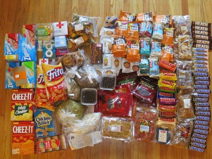 high calorie snacks